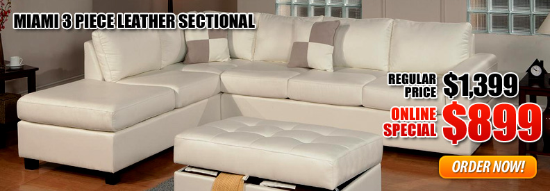 Leather Sectionals Miami Homes Decoration Tips