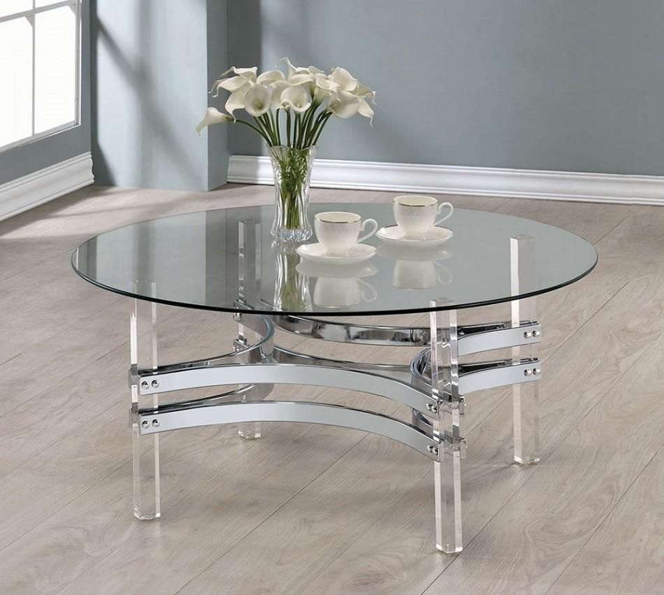 Houser Acrylic Coffee Table