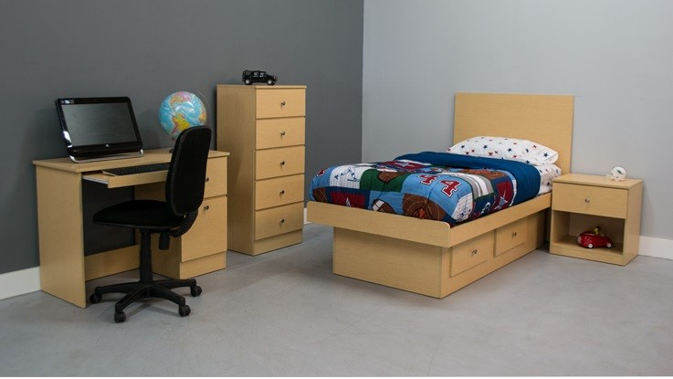 Boys 4-Piece Bedroom Set