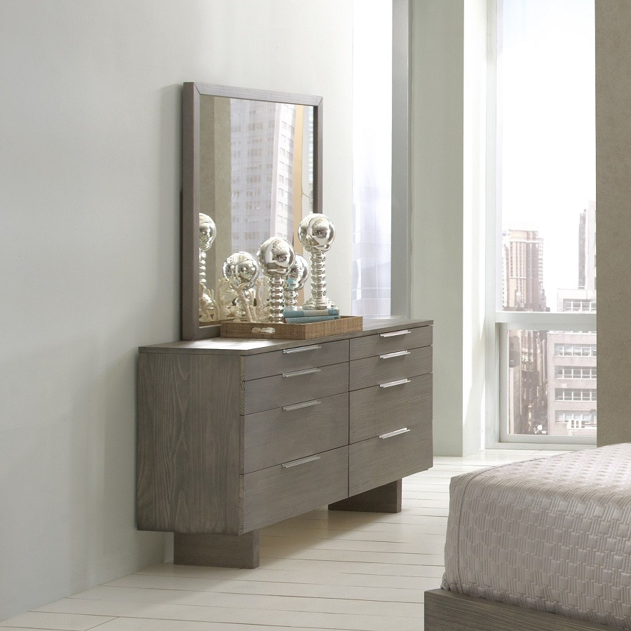 Violet Gray Dresser
