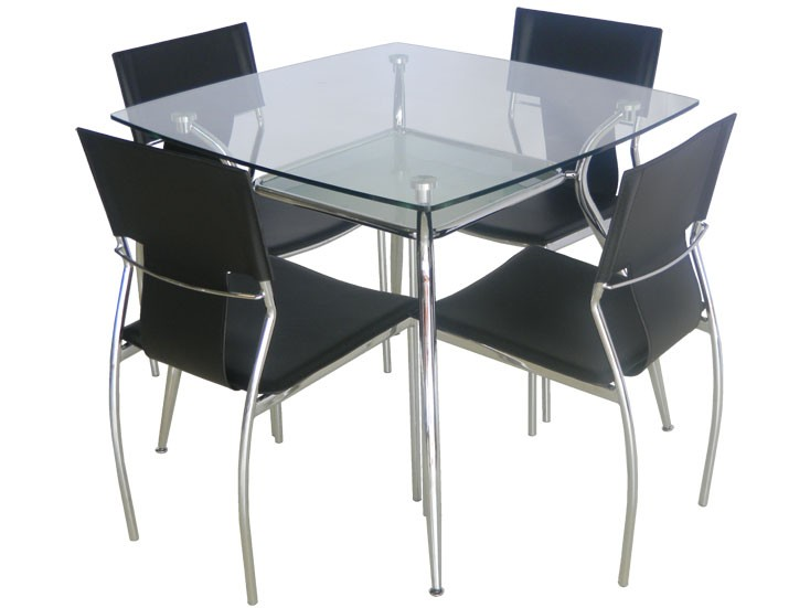 Crystal 5-Piece Dining Set