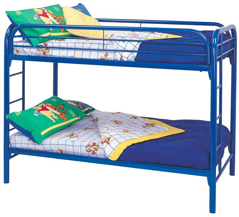 Miles Blue Bunk Bed