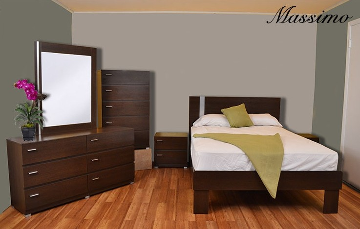 Massimo 5-Piece Bedroom Set