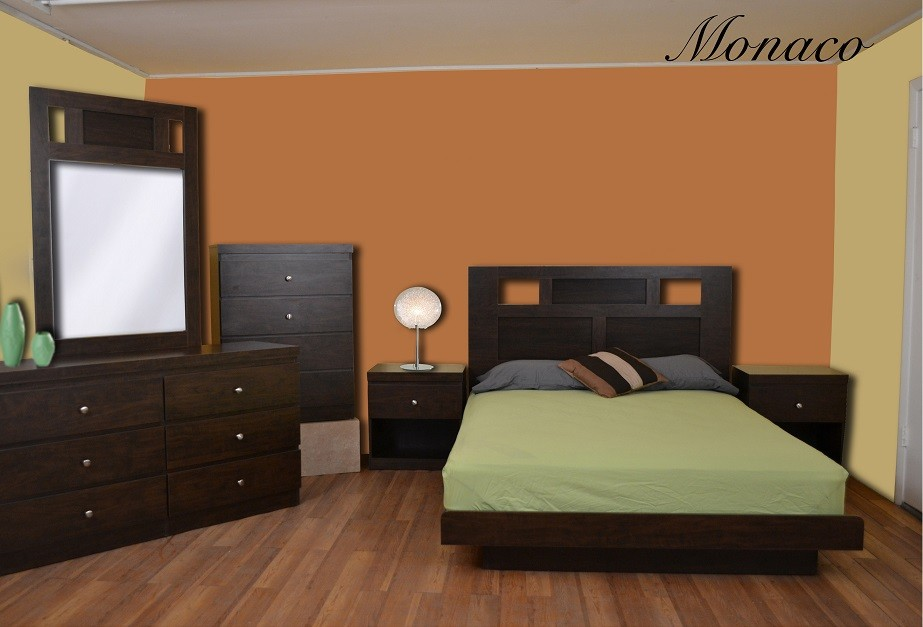 Monaco 5-Piece Bedroom Set