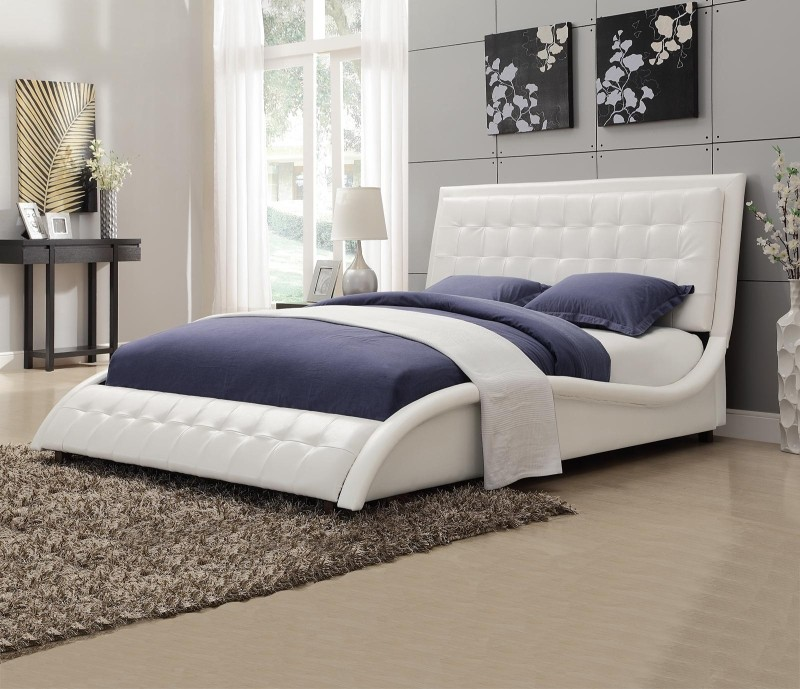 Neo White Bed