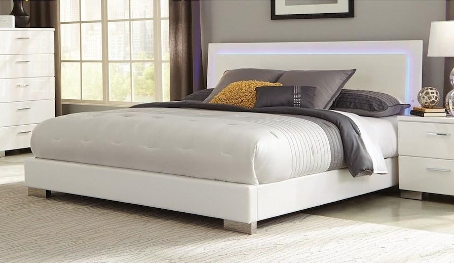 Felicity Illuminate Bed