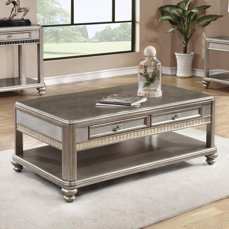 704618 Glam Coffee Table Miami Furniture
