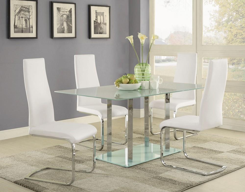 Bianco II 5-Piece Dining Set
