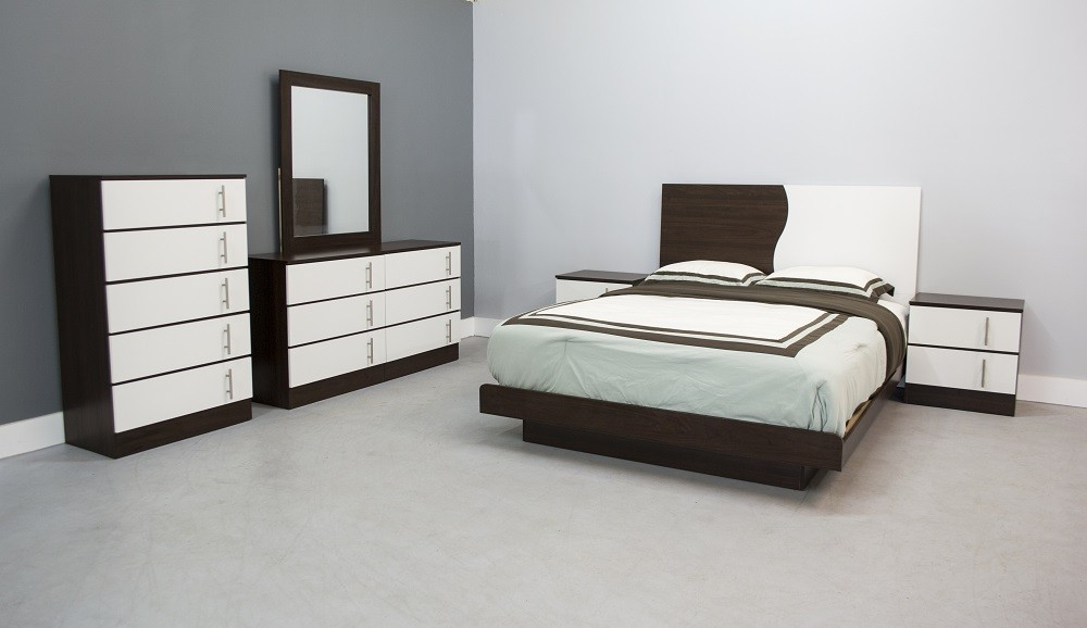 Torino Platform 5-Piece Bedroom Set