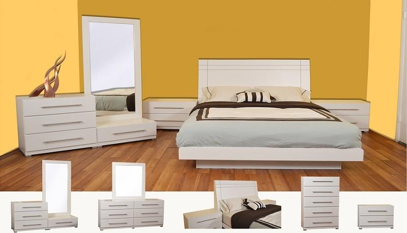 Verona 5-Pieces Bedroom Set