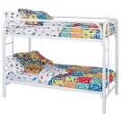 Miles White Bunk Bed