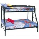 Carey Black Bunk Bed
