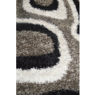 Shaggy Full Moon Rug