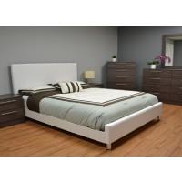 Mia Upholstered Platform Bed