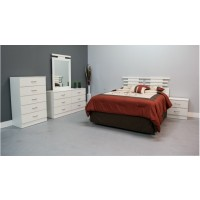 Caprice Headboard 5-Piece Bedroom Set
