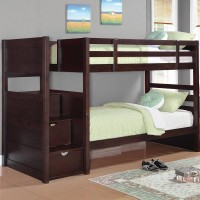 Jeremih Cappuccino Bunk Bed