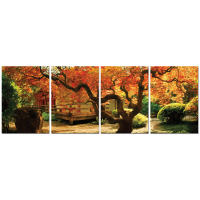 Autumn 4-Piece Canvas