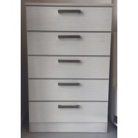 Athens White-Contour Chest