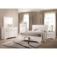 Miranda Storage 4-Piece Bedroom Set