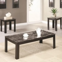 Wesley 3-Piece Coffee Table Set