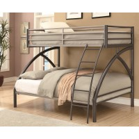 Dark Gunmetal Bunk Bed