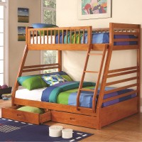 Script Oak Bunk Bed