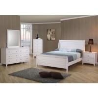 Selena Sleigh 4-Piece Bedroom Set