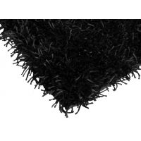 Shaggy Black Rug