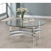 Houser Acrylic Coffee Table