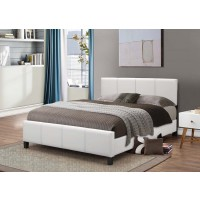 Lilly White Platform Bed