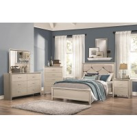 Lana Silver 4-Piece Bedroom Set