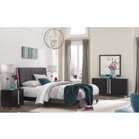 Sofia Black 4-Piece Bedroom Set