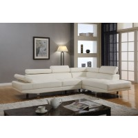 Massimo White Sectional
