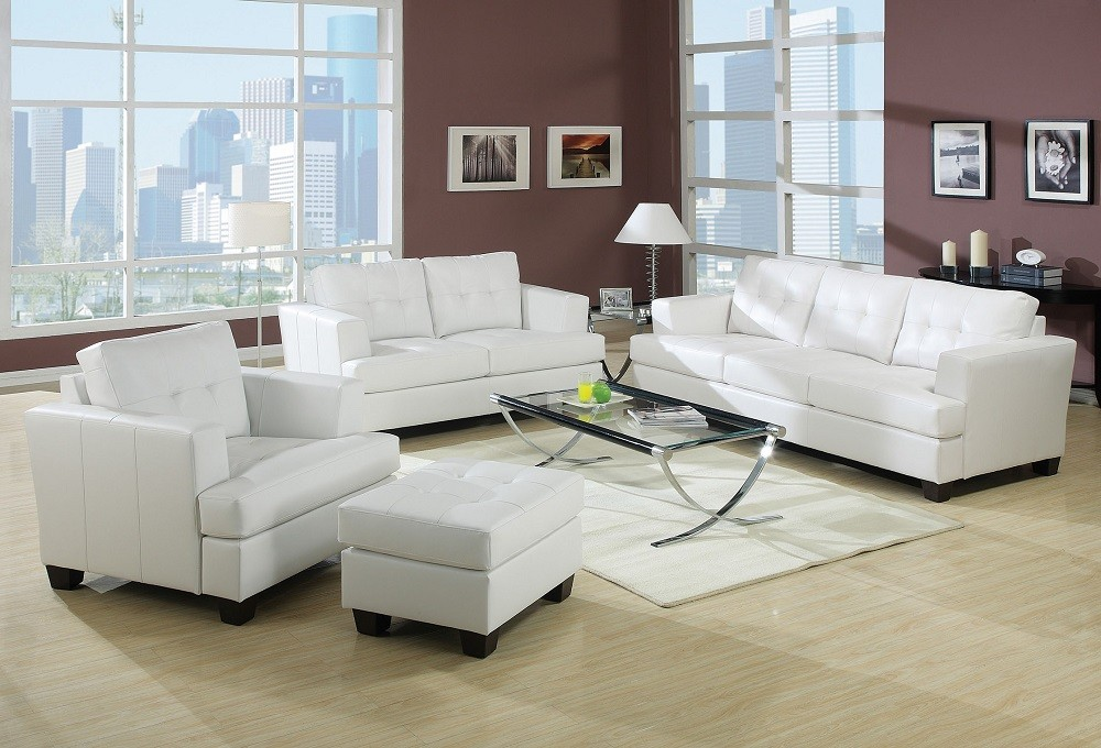 Platinum Sofa and Loveseat