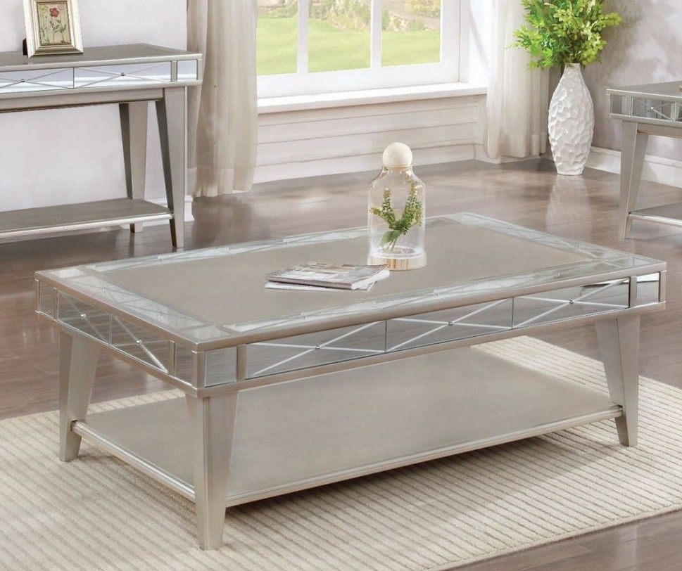 Lynch Mirrored Coffee Table