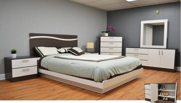 Costa del Sol 4-Piece Bedroom Set