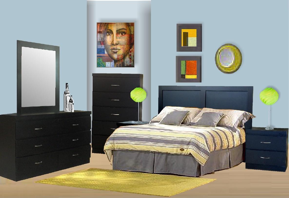 Milano 6-Piece Bedroom Set