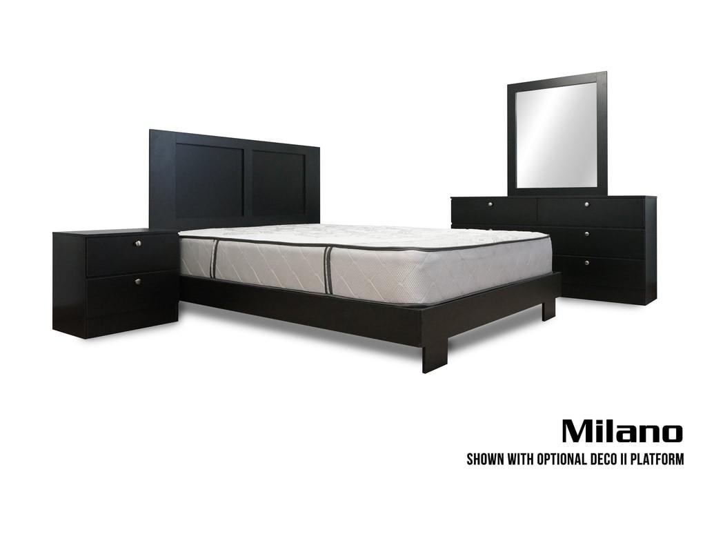 Milano 4-Piece Bedroom Set - Miami Furniture