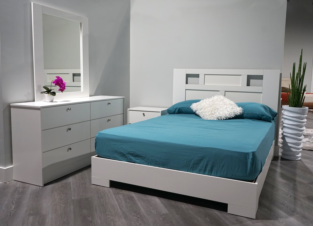 Monaco 4-Piece Bedroom Set