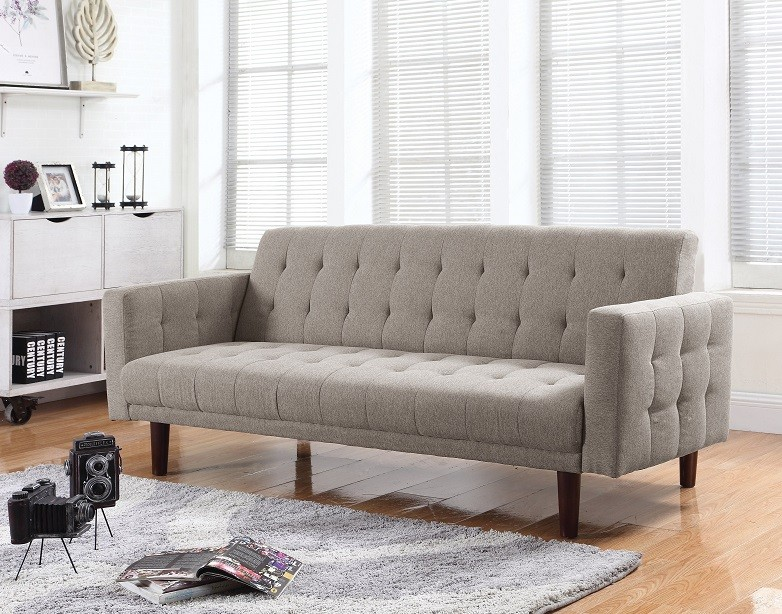 Perry Taupe Futon