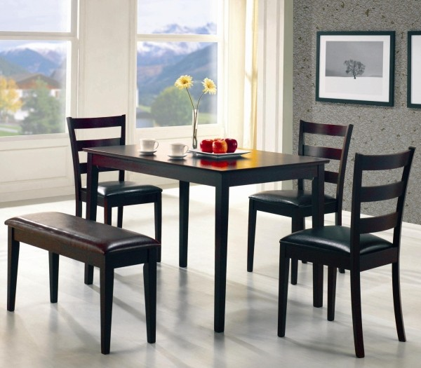 Collins Espresso 5-Piece Dining Set