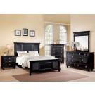 Merivale Black 4-Piece Bedroom Set