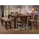 Antoine 8-Piece Counter Height Dining Set