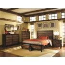 Conway Two Toned 4-Piece Bedroom Set
