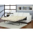 Platinum White Sofa Queen Sleeper