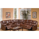 Fullerton Brown Power Motion Sectional Sofa Set