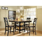 Ashley Two Toned 5-Piece Dining Set