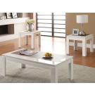Kilee White 3-Piece Coffee Table Set
