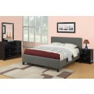 Lavenita Gray Platform 4-Piece Bedroom Set