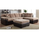 Layce Camel Sectional